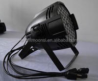 Cheapest led par light 54*1w rgbw led disco stage light from china supplier