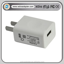 5V 1A micro usb wall charger