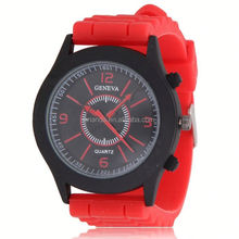 luxury alloy watch, no.491 silicone detachable full printing slap on watch