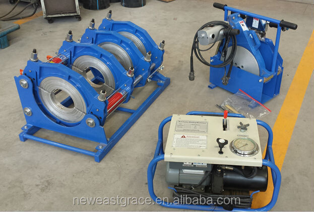 315 pipe hdpe butt fusion welder supply