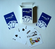 Manufacturer Advertising Playing Card With Logo
