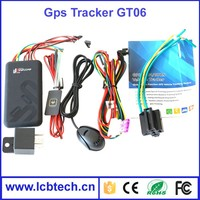 High quality remote engine off vehicle GPS tracker GT06 car gps gprs tracker SOS alarm