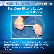 SS-67B Fast Cure Silicone Rubber Parts for Bonding and Splicing