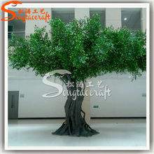 Best selling new high quality fair or oudoor decration of artificial trees stumps branches artificial big ficus trees for sale