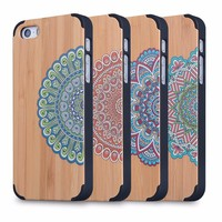 for wooden iphone 5 case customized Cell Phone wood Case For Iphone 5 custom printing china manufacturer