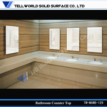 commercial bathroom sink countertop/bathroom countertops with built in sinks