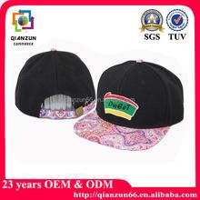 Cheap snapback baseball caps,european style flat brim snapback baseball cap