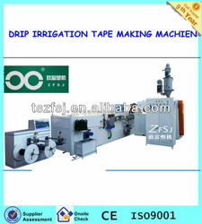 Melt-Flow Type Drip Irrigation Tape Making Machine drip pipe production line