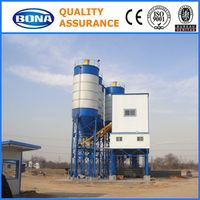 stationary type ready mixed small concrete batch plant