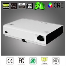 3D DLP Long Throw Projector 3500 Lumens Education or Business 1080p Proyector
