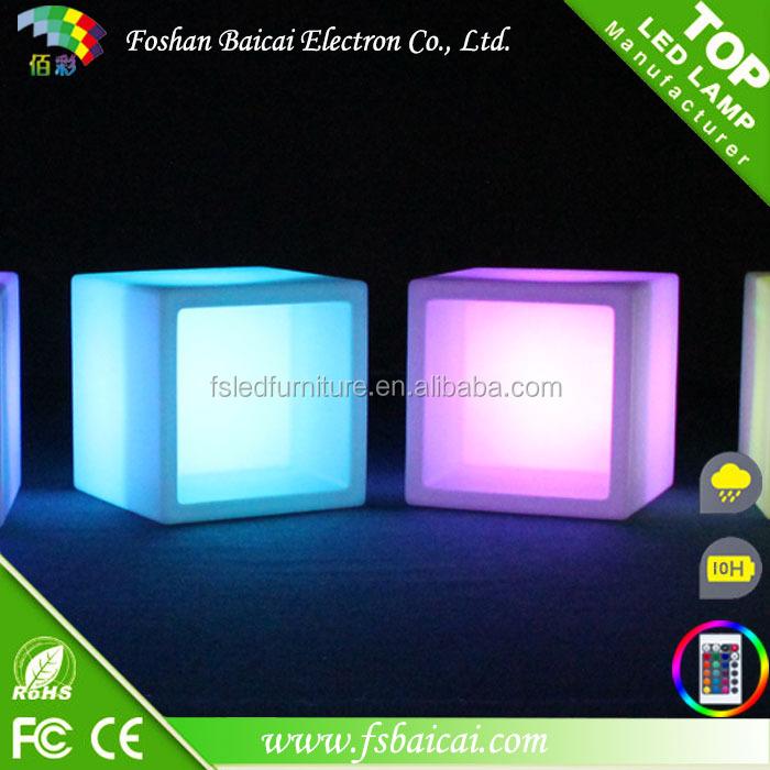 주도 가구 RGB 주도 큐브 테이블 조명/ rgb 장식 주도 큐브 등 RGB ...