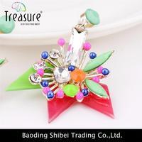korea earring led earrings glowing light up crown ear drop pendant stud stainless multi-color