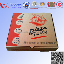 Customized Printed Corrugated Paper Pizza Box with Competitive Price