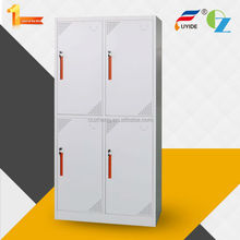 Fashionable durable storage kd metal clothes cabinet
