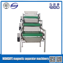 WDY brand high quality magnetic separator machine for conveyor belts