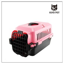 different color high quality transportation box plastic pet carrier for travel