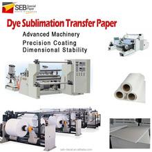 SEB Dye-Sub Transfer Paper | manufacturer Digital Printing Inkjet Sublimation paper