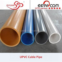 ISO DIN Standard Black PVC Flexible Pipe 4 Inch for Water Supply/Drainage with Good Price