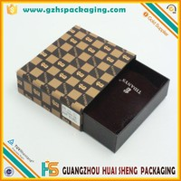 custom cufflink packaging cardboard sliding drawer gift boxes