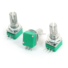 6mm Knurled Shaft Single Linear B 10K ohm Rotary Potentiometer