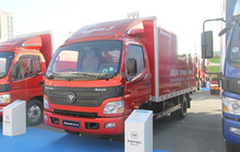 Foton Aumark cargo truck especially for Russia,chevrolet n200 van,diesel passenger van
