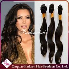 Wholesale 7A 20 Inch Unprocessed Brazilian Virgin Hair Loose Wave Natural Black 100% Human Hair Weave