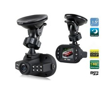 1080P Full HD Carcam hd car dvr 12Ir led night vision C600, auto charger