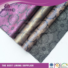 wholesale textile fabric polyester jacquard suit lining fabric