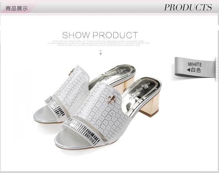Туфли на высоком каблуке  A004