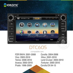 In Dash Car dvd player / Autoradio / GPS navi / cars multimedia for old Toyota universal camry corolla 2005 2006 2007 2008 2009
