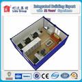 Ce/certificada iso pré-fabricada container escritório, 20ft container escritório, container escritório pré-fabricadas