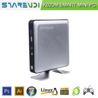 high-qualified fanless mini pc linux os with Intel Bay Trail J1800 for student