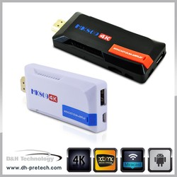 OEM & ODM Android 4.4 smart tv stick RK3288 4K dongle android tv MINI pc rk3288 Quad Core Android4.4 TV Box