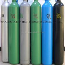 Oxygen nitrogen argon gas cylinder