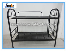 2014 steel plate round tube cheap metal bunk beds