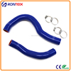 Flexible heat resistant radiator silicone hose kit