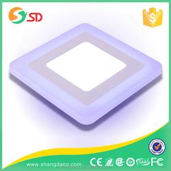 led panel frame ultra slim led square panel light 3w 6w 9w 12w 15w 18W 24w recessed square flat led panel ceiling lighting