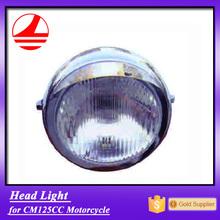 China Factory CM125 spare parts head light custom motorcycle body kits