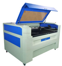 high speed high precision 60w 9060 laser engraving and cutting machine for rubber / leather