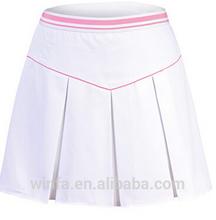 moda ajuste personalizado seca el deporte desgaste de las señoras faldas