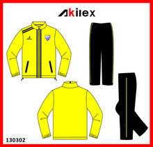 100% Polyester Men's tracksuit with OEM Service