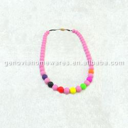 Small Quantity Available bpa free silicone pendant/silicone beads made in China