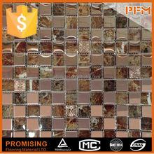 8 mm de espessura mosaico de vidro ornamento para piscina