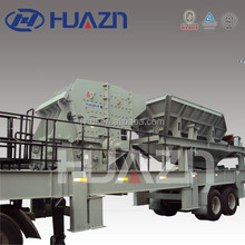 Applied for Mining, Quarry,and Metallergy YD series Mobile Crushing and Screening Complete Station