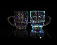 Favorites Compare 550ml led flashing beer cup wine mug led shot cup for club part SJ-LC40