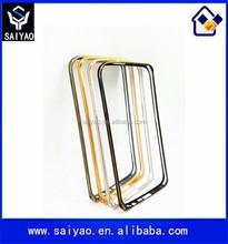 Arc edge ultra thin protective aluminum cell phone metal bumper case for Samsung Galaxy S6 Edge