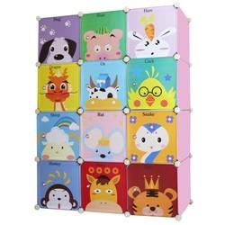 storage racks cartoon design diy children c plastic storage wardrobe