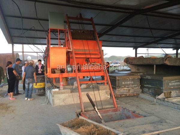 Cellular Lightweight Concrete Machines : Cellular lightweight concrete brick block machine buy