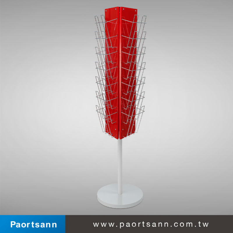 Exhibition Stand Rota : Metal wire rotatable booklet display stand buy