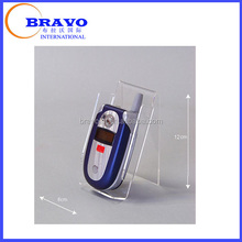 Acrylic mobile phone stand, Mobile photo display stand, Mobile phone wall stand